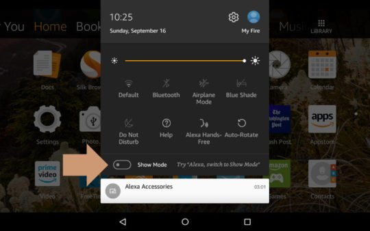 how to disable Alexa on fire tablet