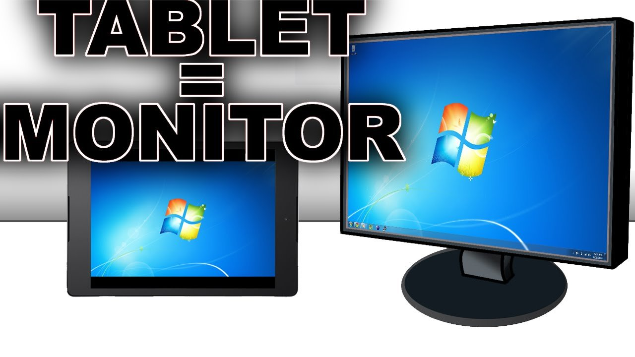 how to use your tablet as a secondary monitor