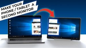 How To Use Your Tablet As Monitor