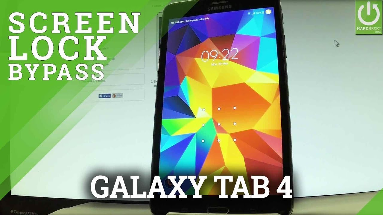 How to Unlock a Samsung Tablet When You Forgot The Password?
