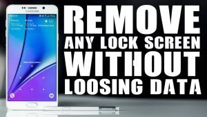 How to Unlock Samsung Tablet Without Losing Data?