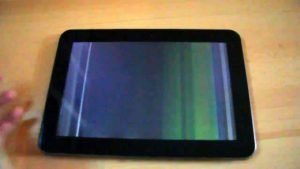 How to Fix Lines on Tablet Screen?